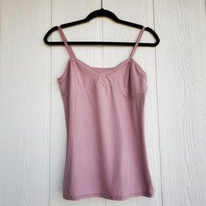 Dusty Rose Tank Camisole